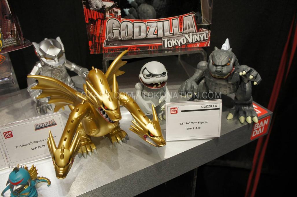 Bandai Creation S 2013 Godzilla Line Up Is Actually Pretty