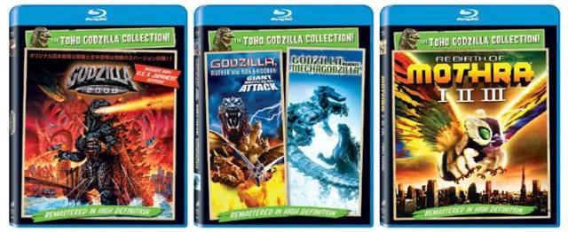Sony Godzilla BD Wave 2