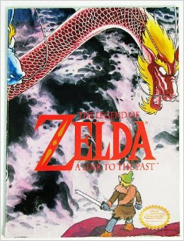 zelda link to the past manga old cover