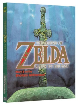zelda link to the past manga