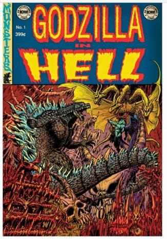 Godzilla in Hell 1