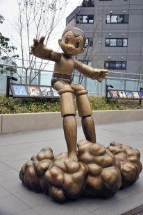 atom statue
