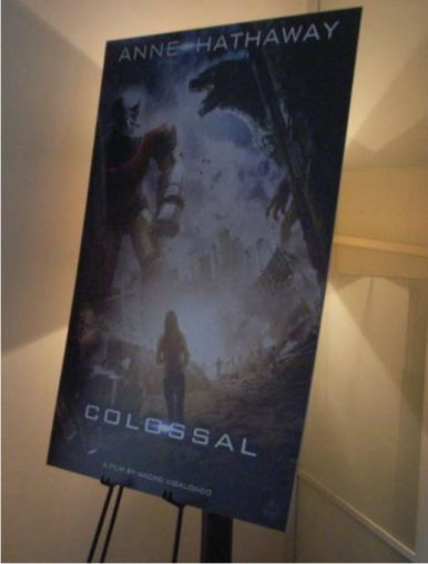 colossal concept poster