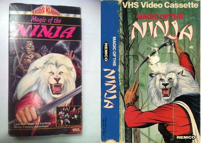 magic of the ninja vhs