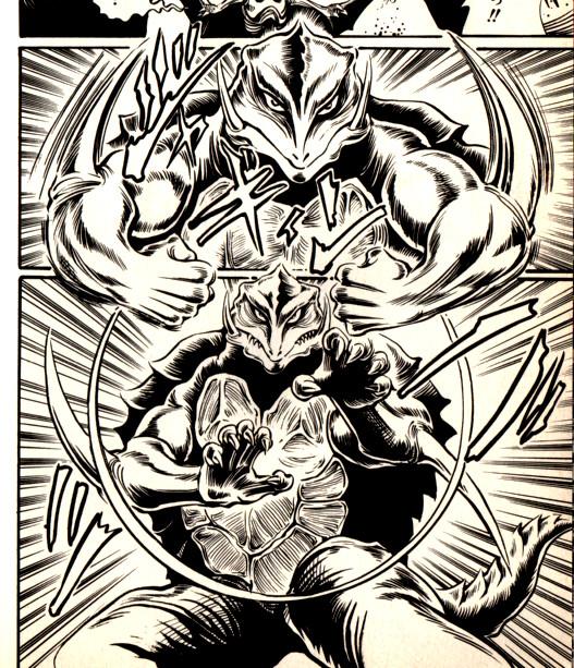gamera manga karate
