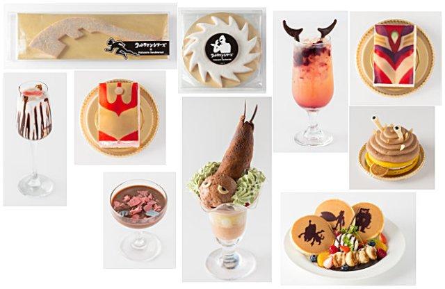 ultraman desserts
