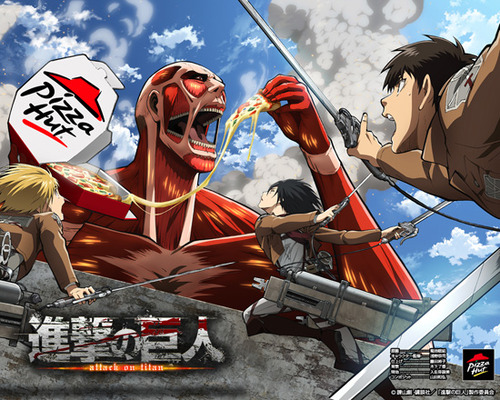 attack on pizza