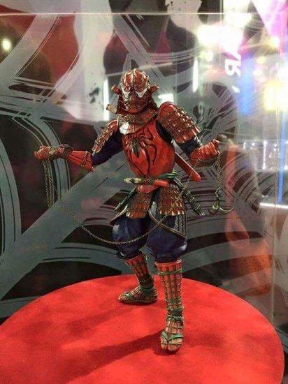 samurai spider man