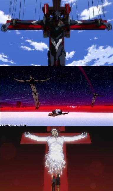 evangelion crucifiction