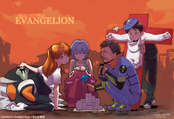 evangelion wallpaper tokusatsu