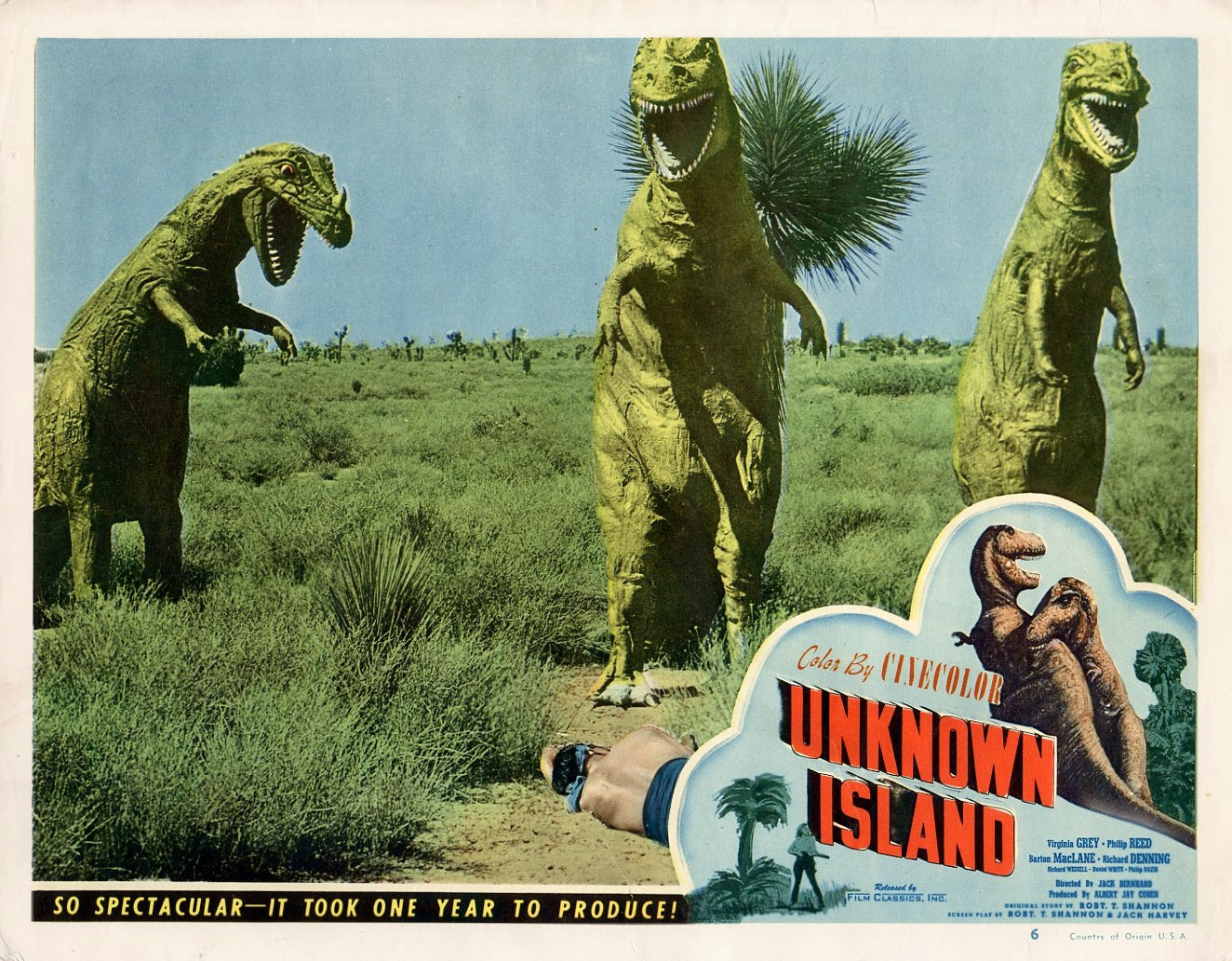 on an unknown island Action drama set on an unknown island starring barton maclane, richard denning, virginia grey and philip reed see allmoviecom for details.