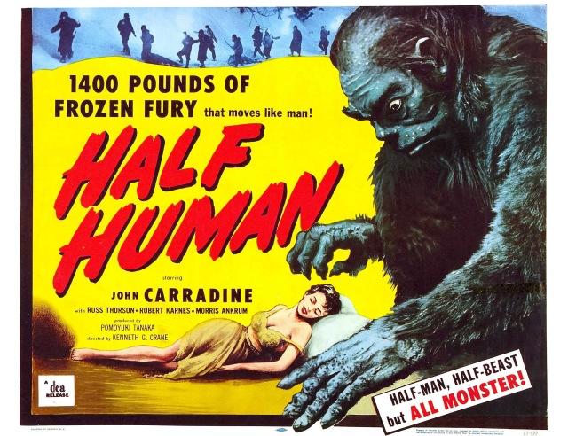 half_human_poster
