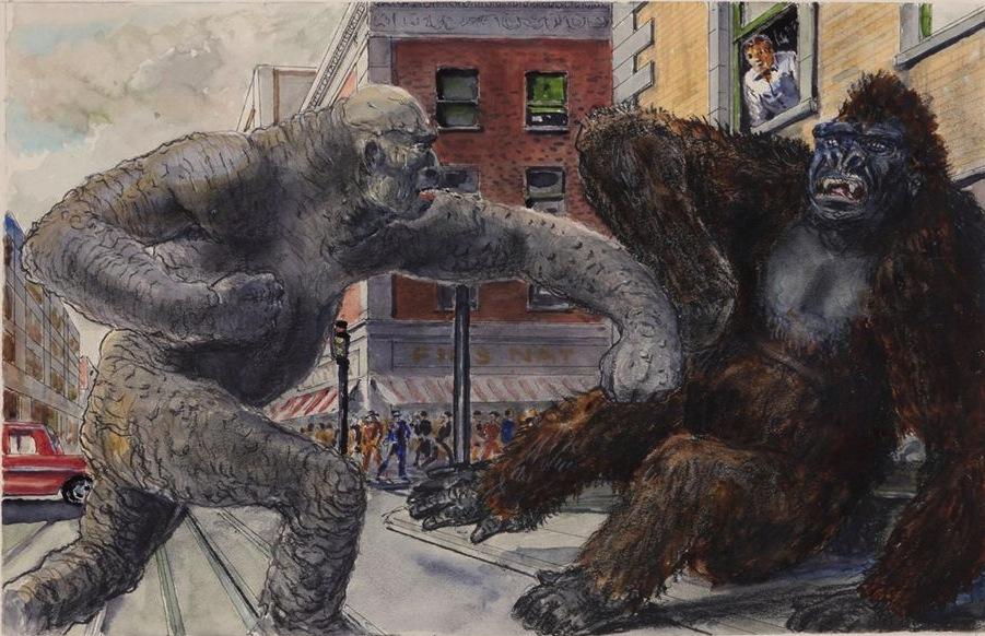 Kong Count 17 King Kong Vs Frankenstein Maser Patrol